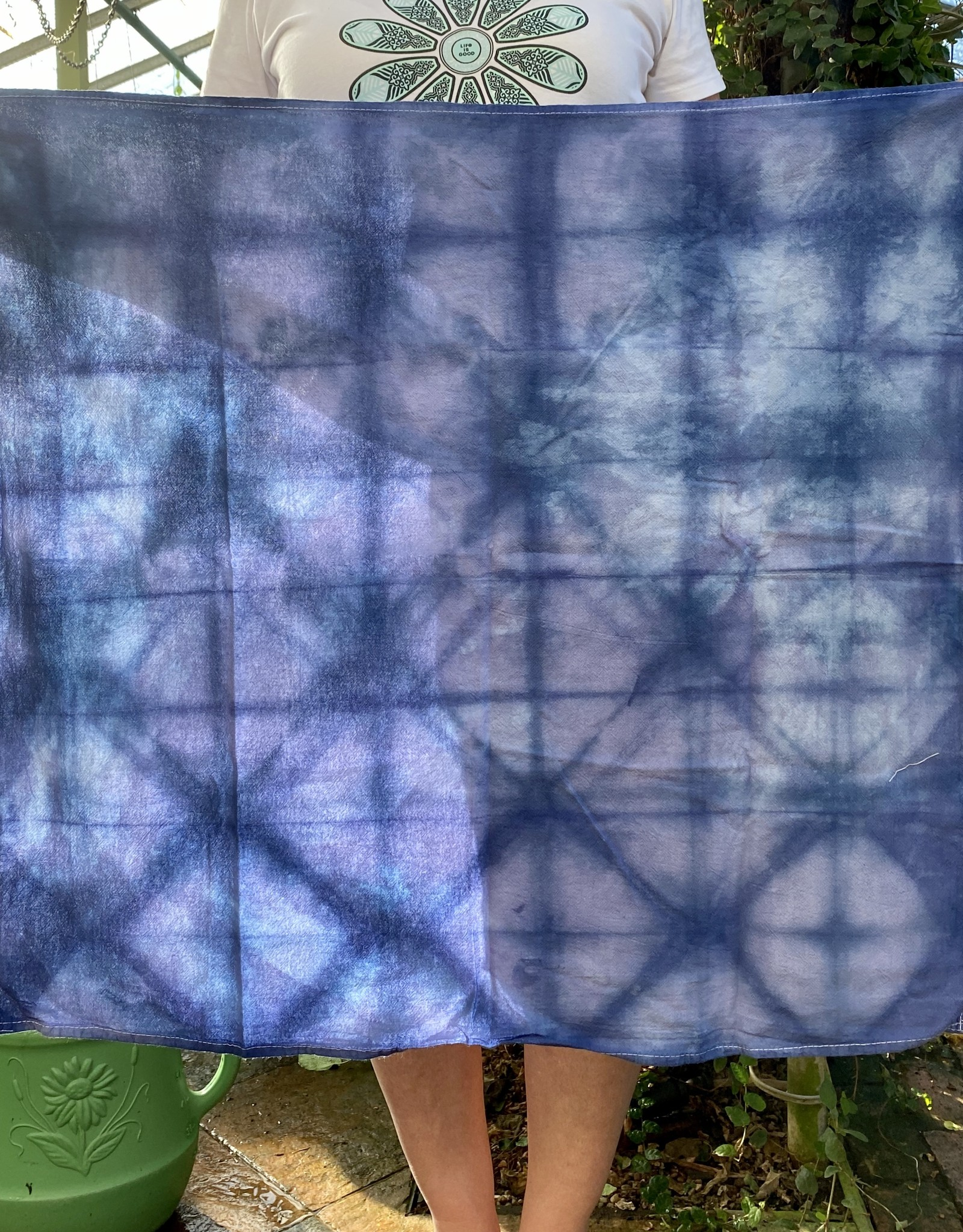 Hand-Dyed Tea Towels