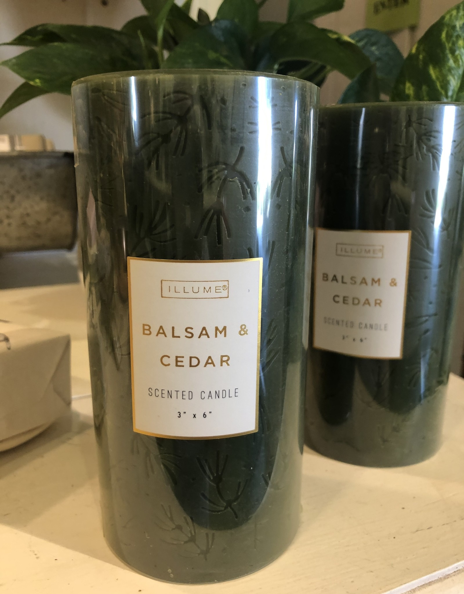 "Scented Pillar Candle, 3"" x 6"""