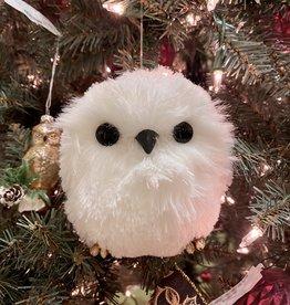 Faux Fur Owl Ornament