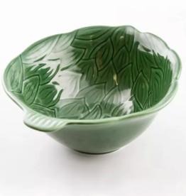 Green Artichoke Serving Bowl