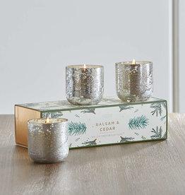 Balsam & Cedar Mini Candle Trio