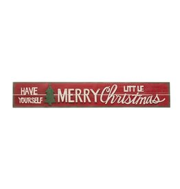 """""""Have Yourself a Merry Little Christmas"""" Sign"""