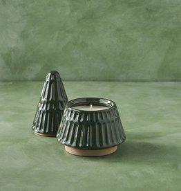 Evergreen Tree Ceramic Candle, 10 oz