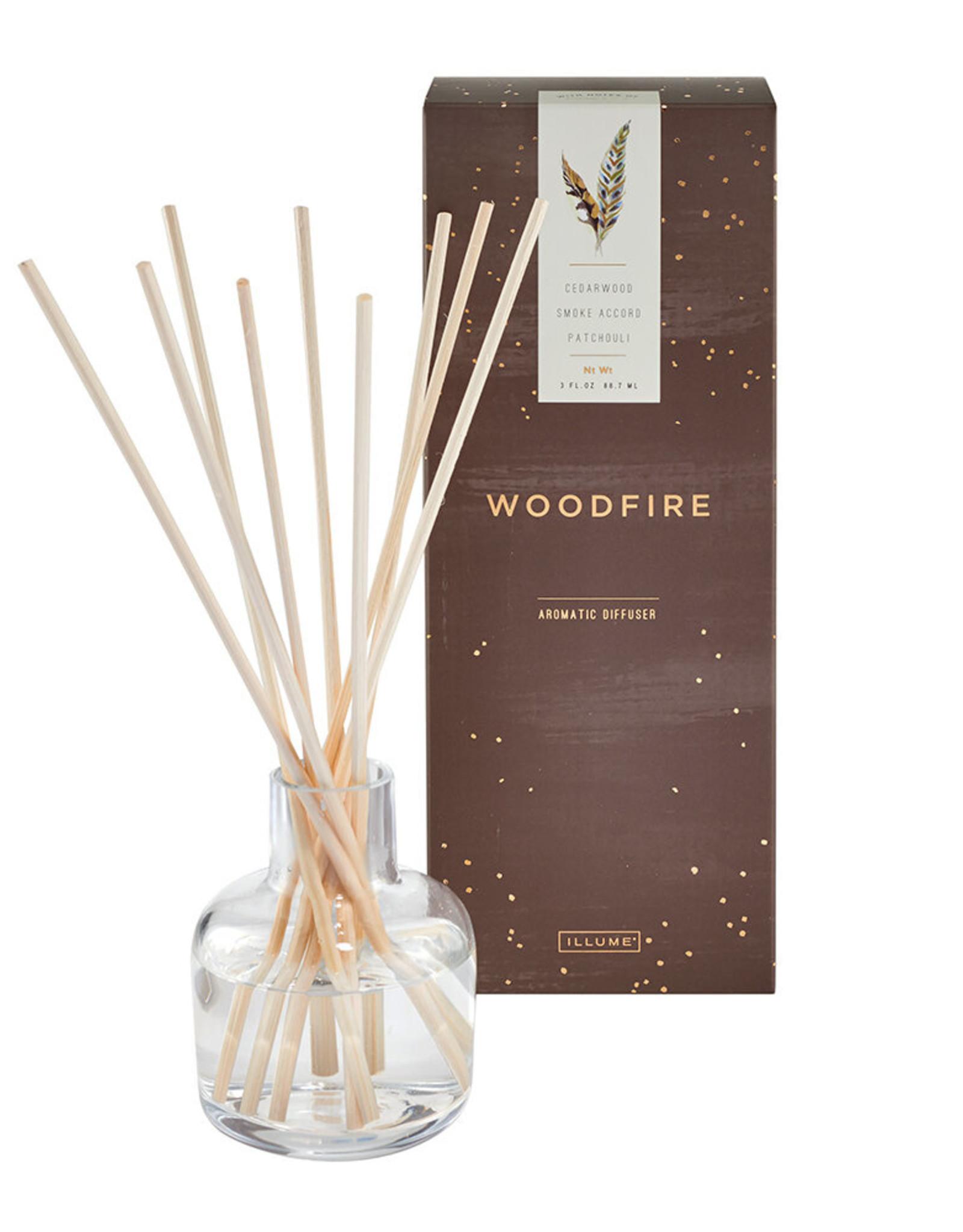 Woodfire Reed Diffuser, 3 fl oz