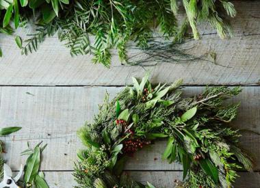 Wreaths, Garlands & Greens