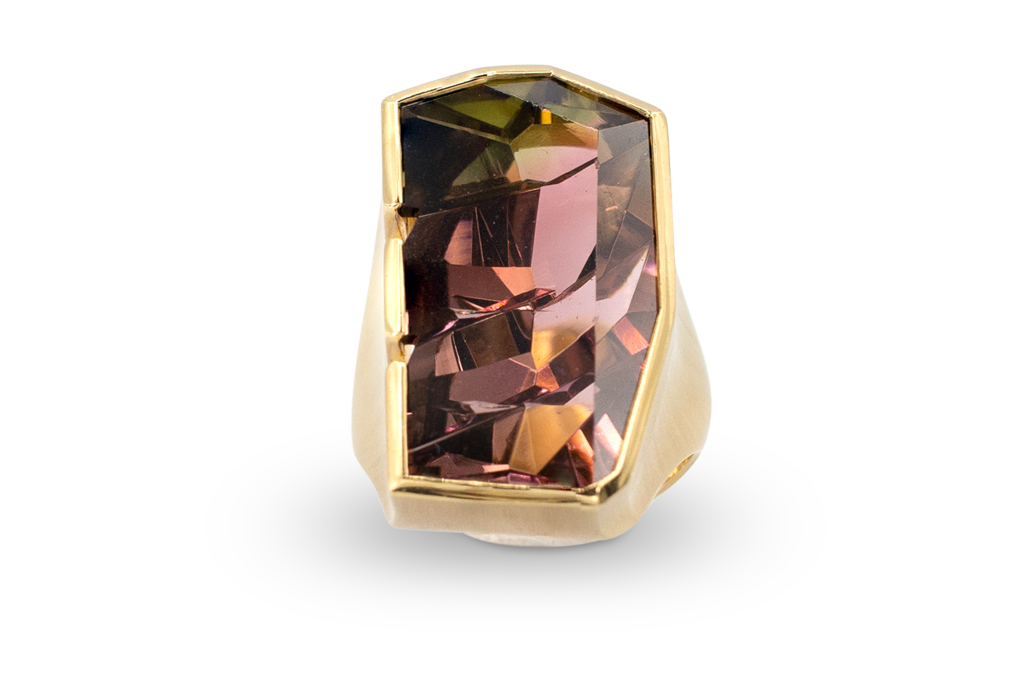Bi-Color Tourmaline Ring-1