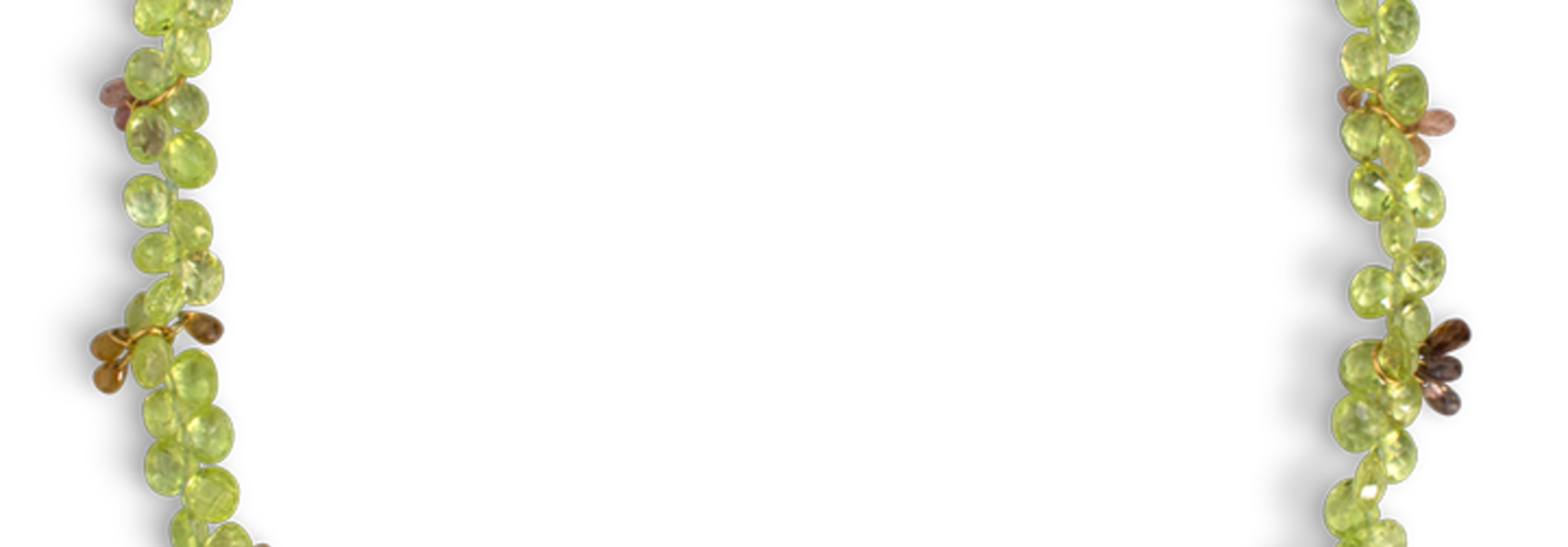 "Chrysoberyl & Sapphire Necklace - 16"""