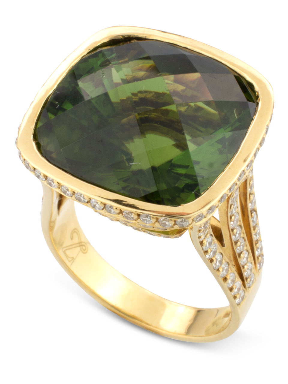Green Tourmaline Ring-1