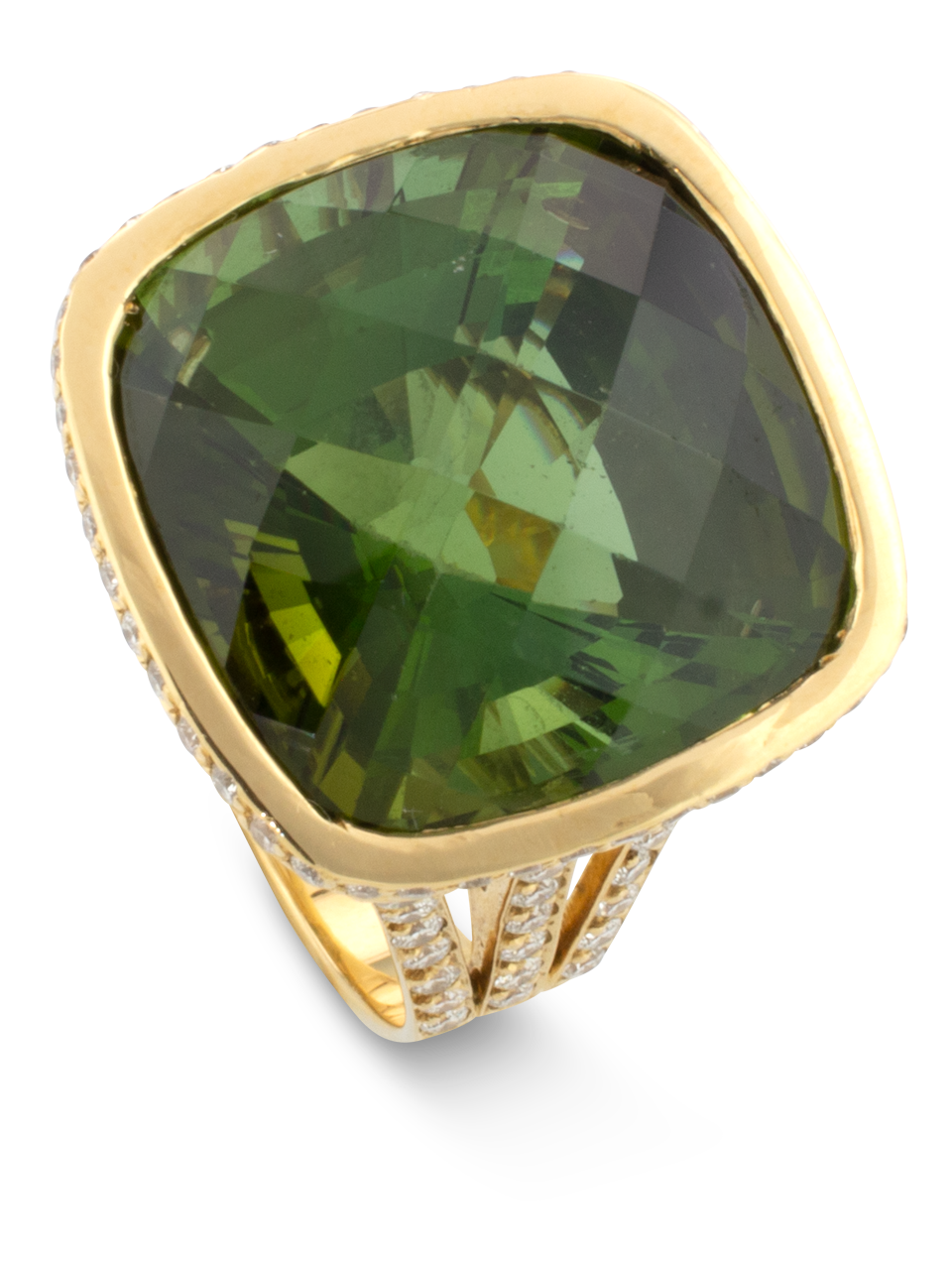 Green Tourmaline Ring-2