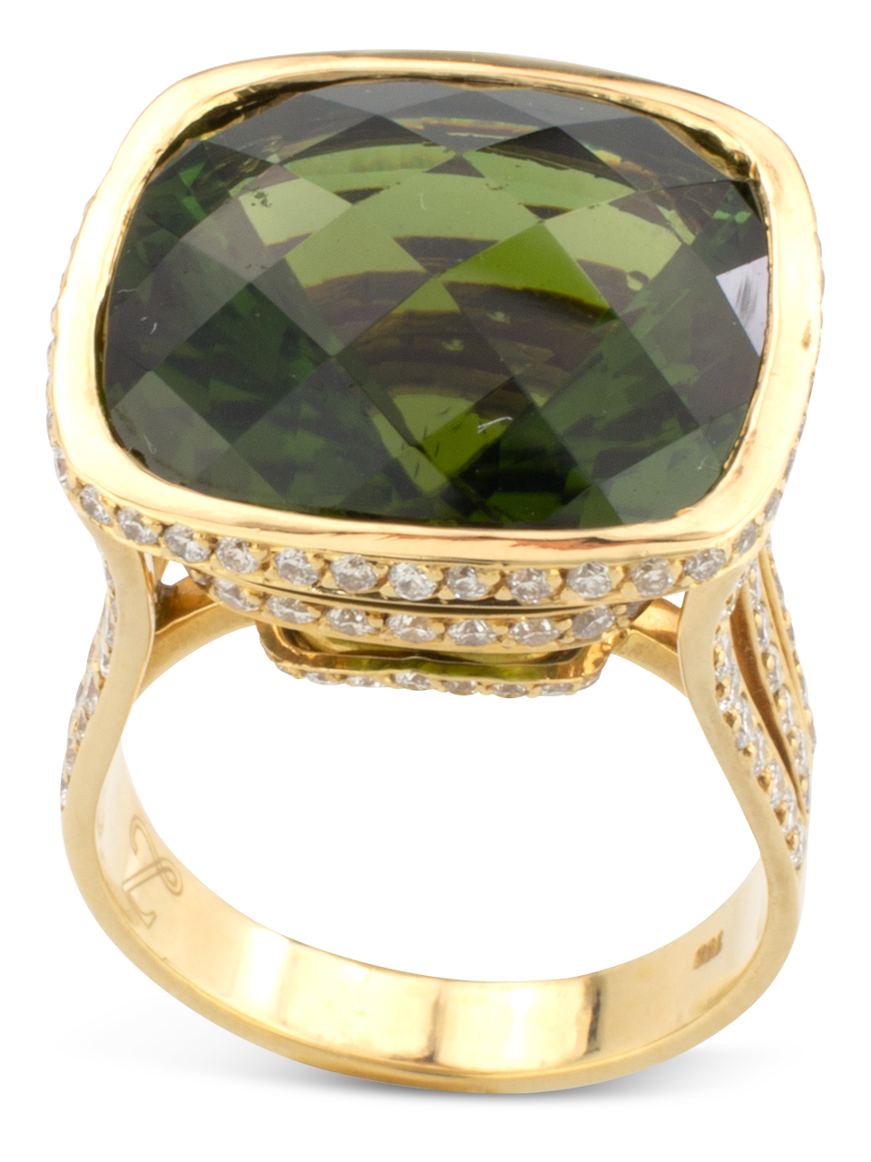 Green Tourmaline Ring-3