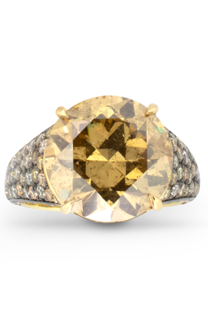 Maple Yellow Diamond Ring