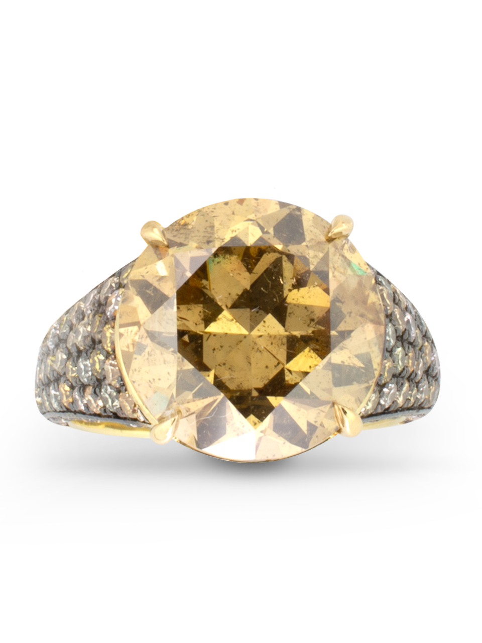 Maple Yellow Diamond Ring-1