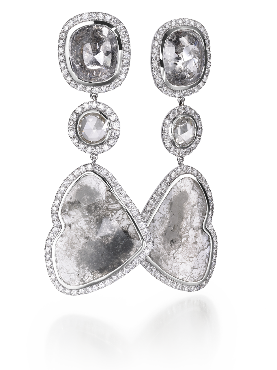 Diamond Slice Earrings-1
