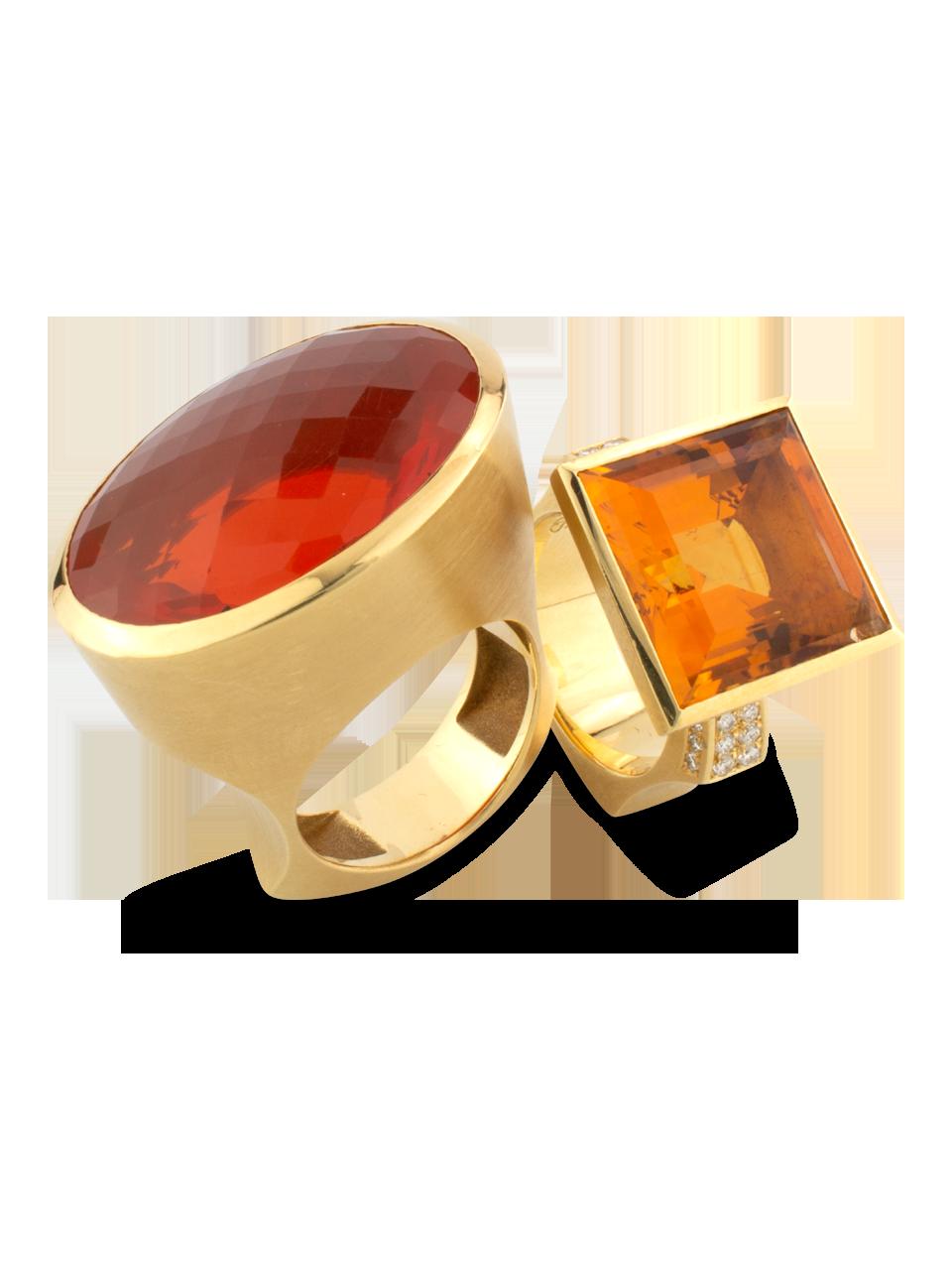 Fire Opal Ring-4