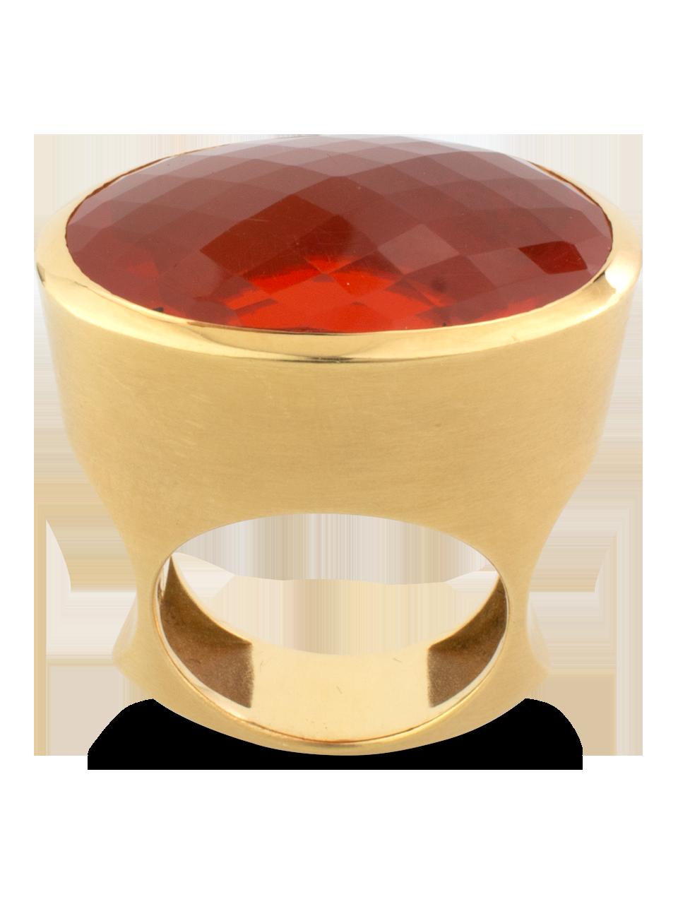 Fire Opal Ring-1