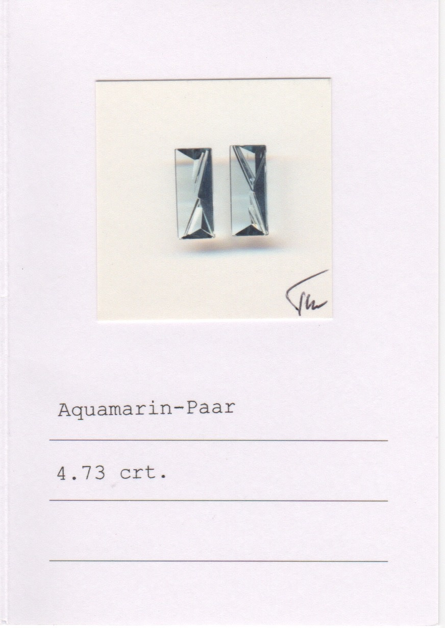 Aquamarine Cufflinks-2