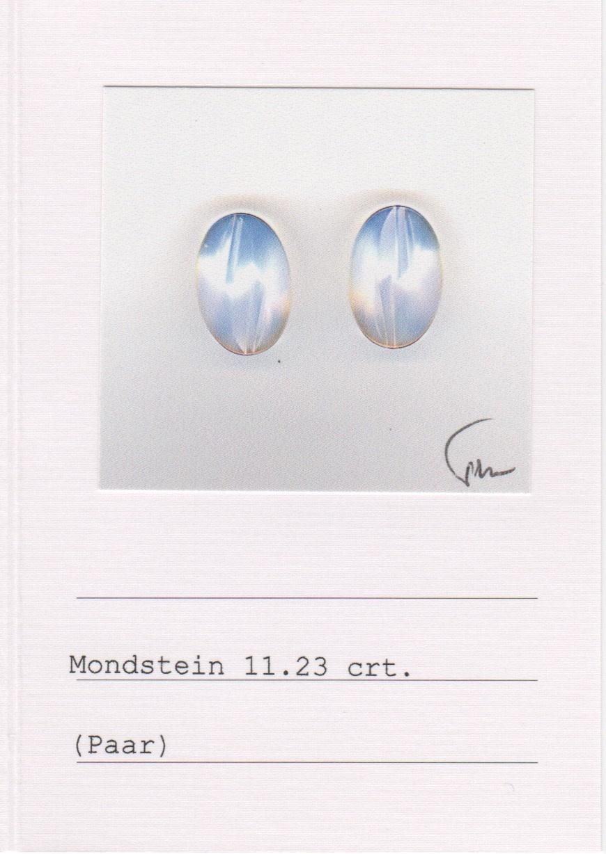 Moonstone & Lavender Spinel Earrings-2