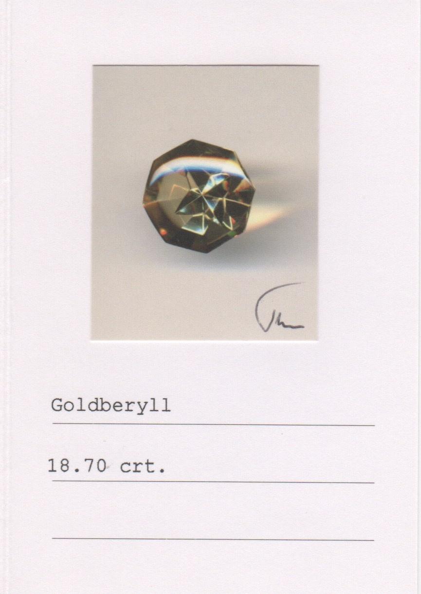 Golden Beryl & Yellow Sapphire Ring-4