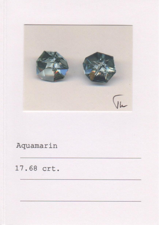 Rubellite, Aquamarine, Peridot & Citrine Earrings-4