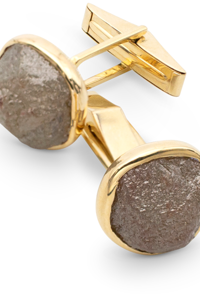 Rough Diamond Cufflinks