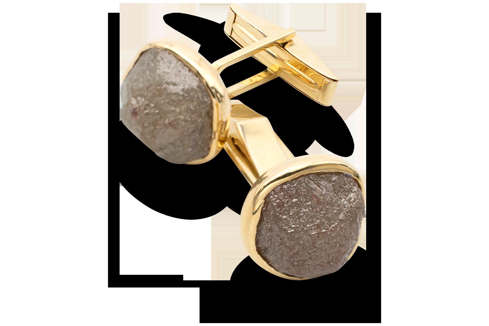 Rough Diamond Cufflinks-1