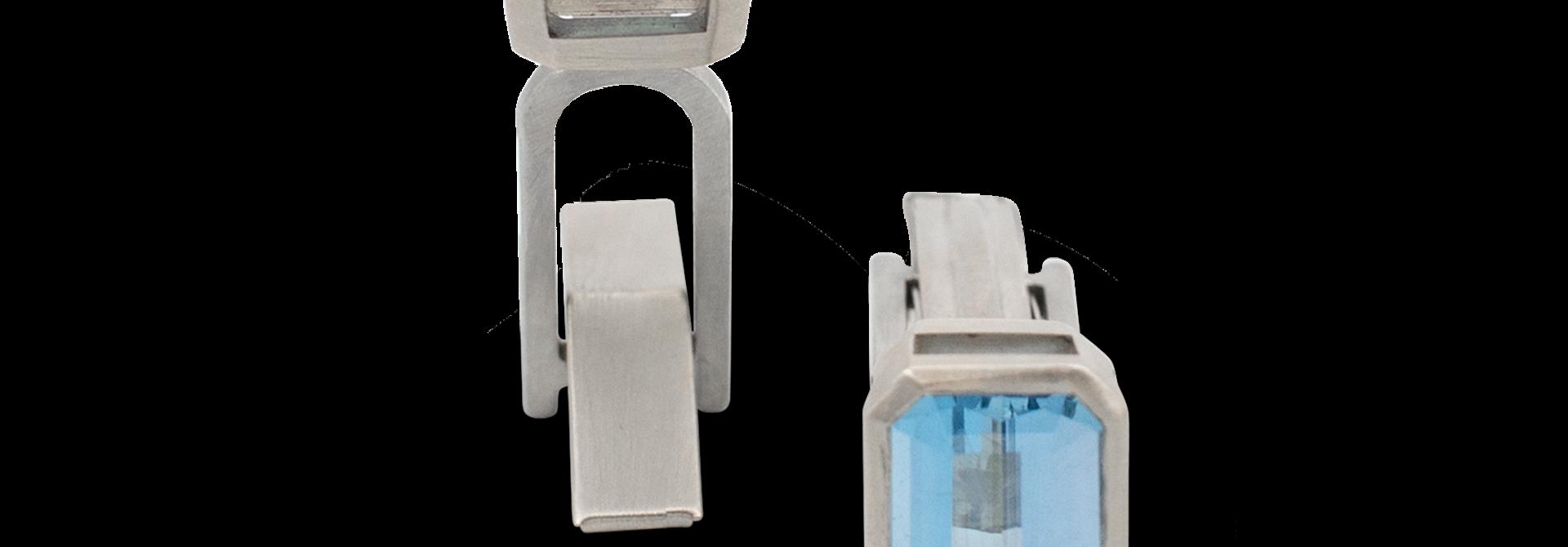 Aquamarine Cufflinks