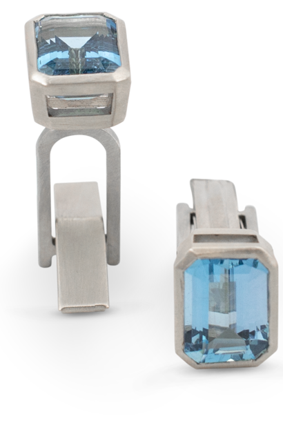 Aquamarine Cufflinks