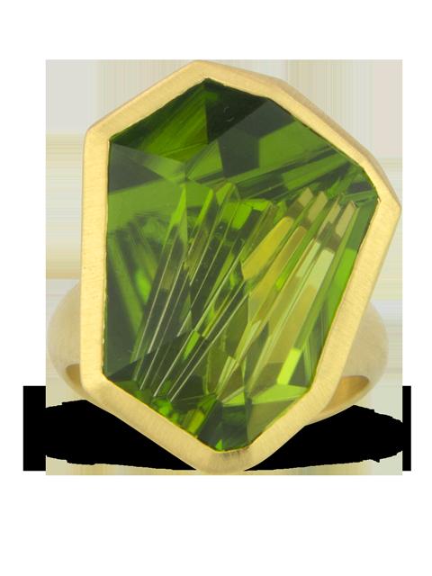 Peridot Ring-2