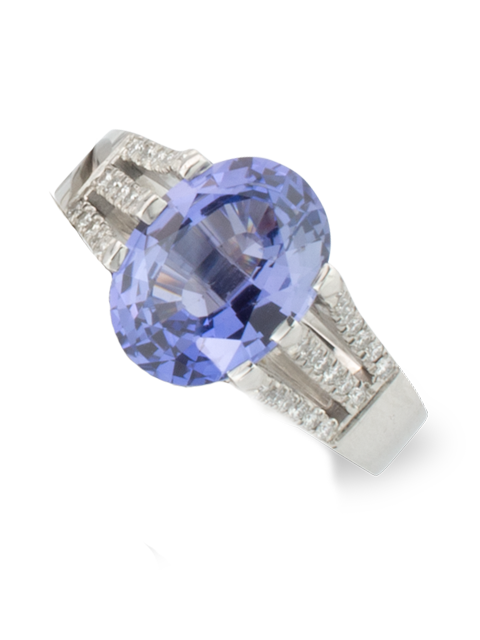 Violet Sapphire Ring-1