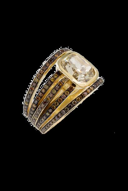 Autumn Mix Diamond Ring