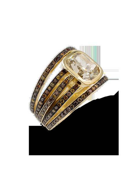 Autumn Mix Diamond Ring-1