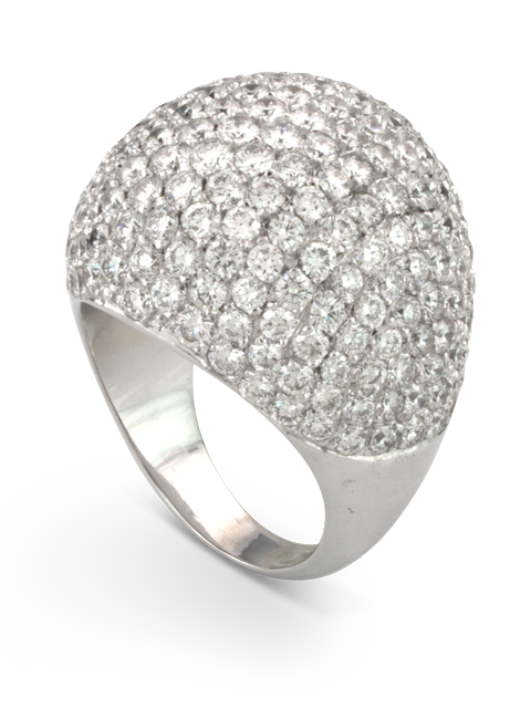 Diamond Dome Ring-1
