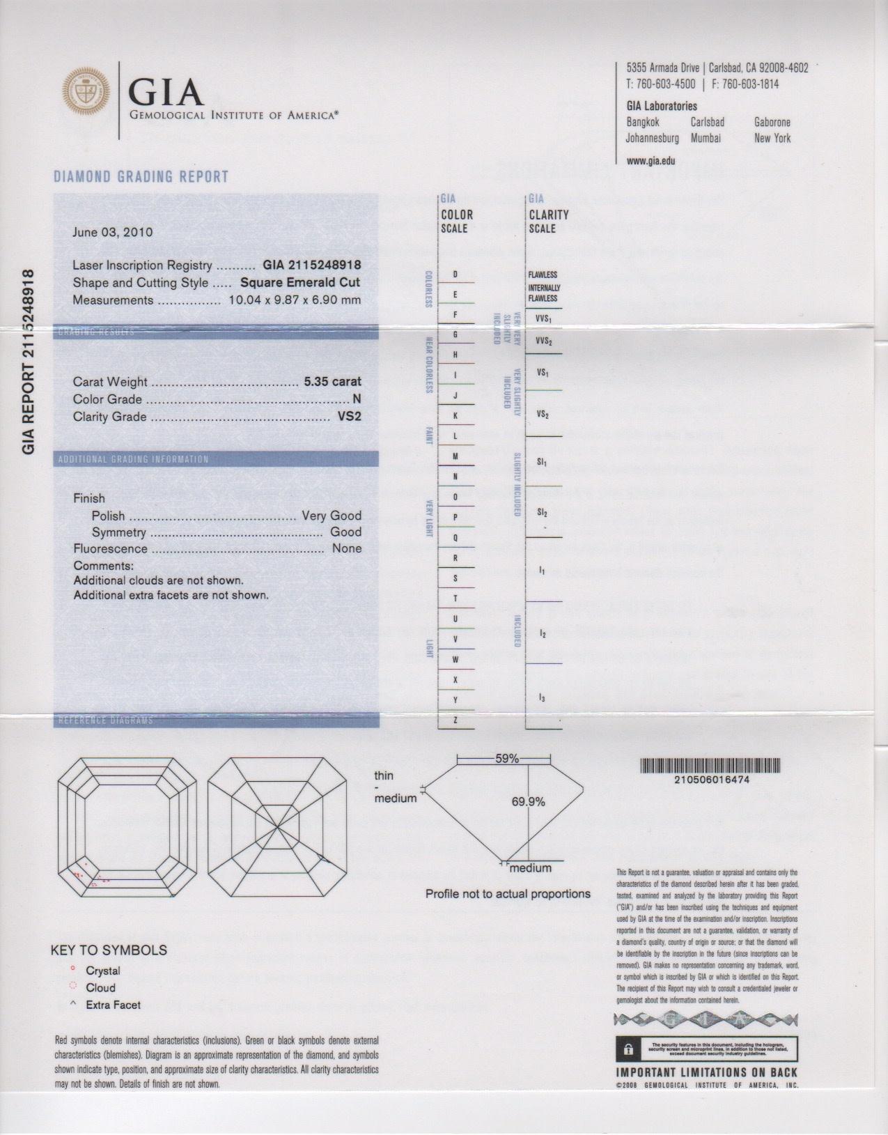 Asscher Cut Diamond Ring-4