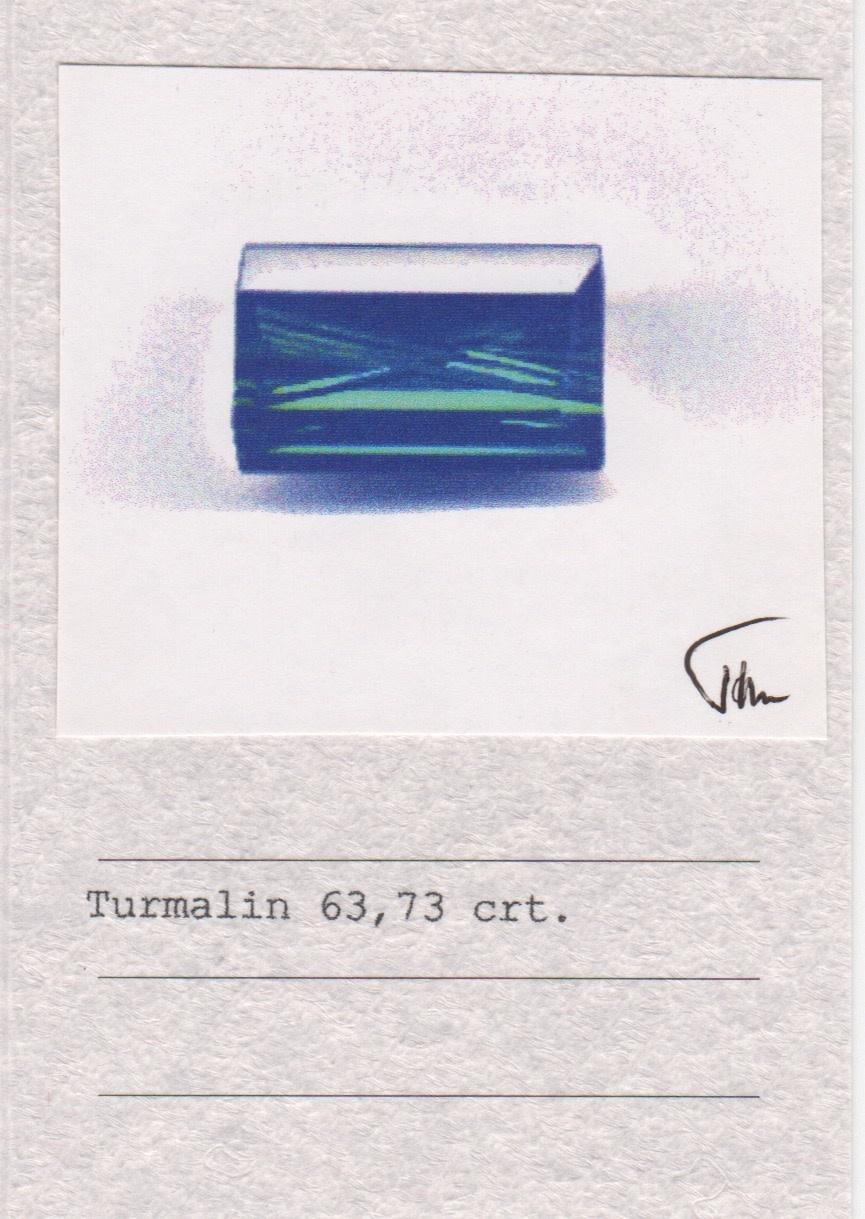 Indicolite Tourmaline & Diamond Ring-5