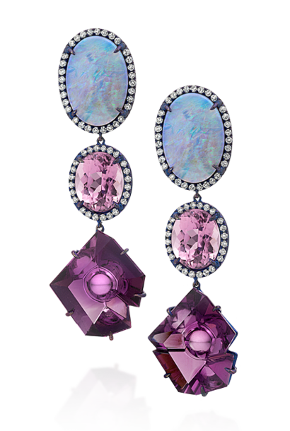 Crystal Opal, Kunzite & Amethyst