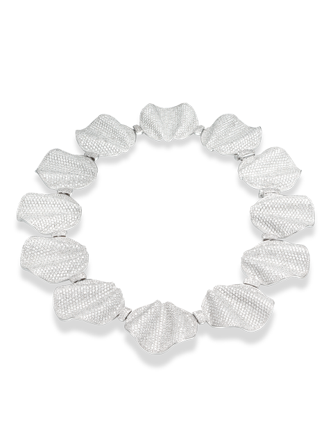 Diamond Disc Necklace-1