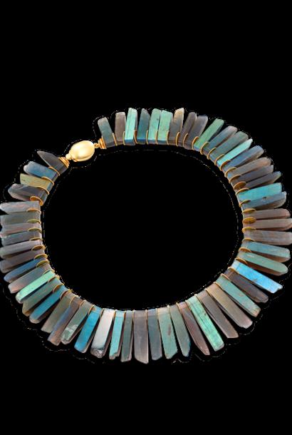 Labradorite Collar Necklace