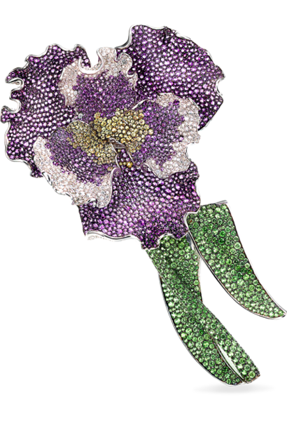 Renee Fleming Iris Pin