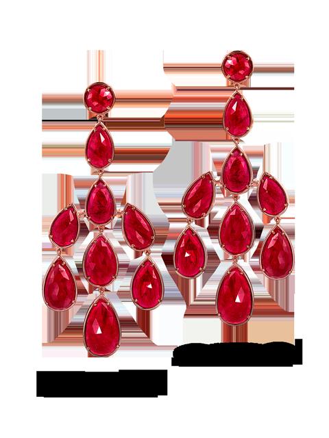 Ruby Earrings-1