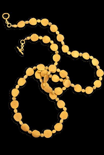 """18k Gold & Diamond Necklace - 48"""""""