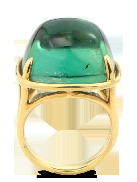 Green Tourmaline Ring-3