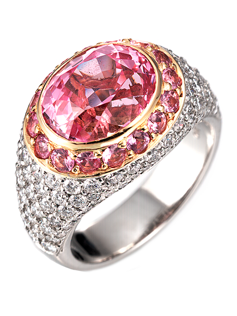 Pink Sapphire Ring-1