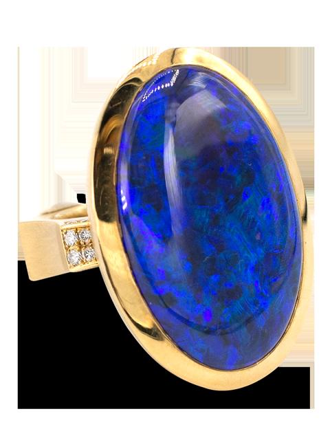 Black Opal Ring-1