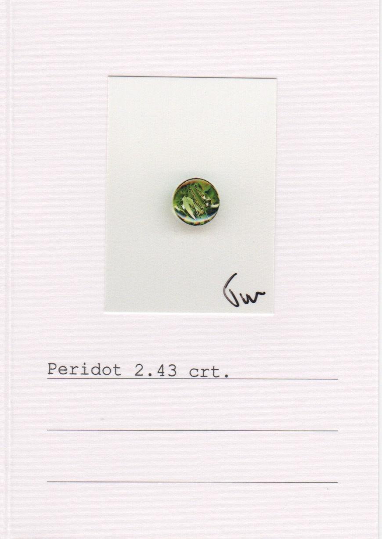 Peridot Earrings-3