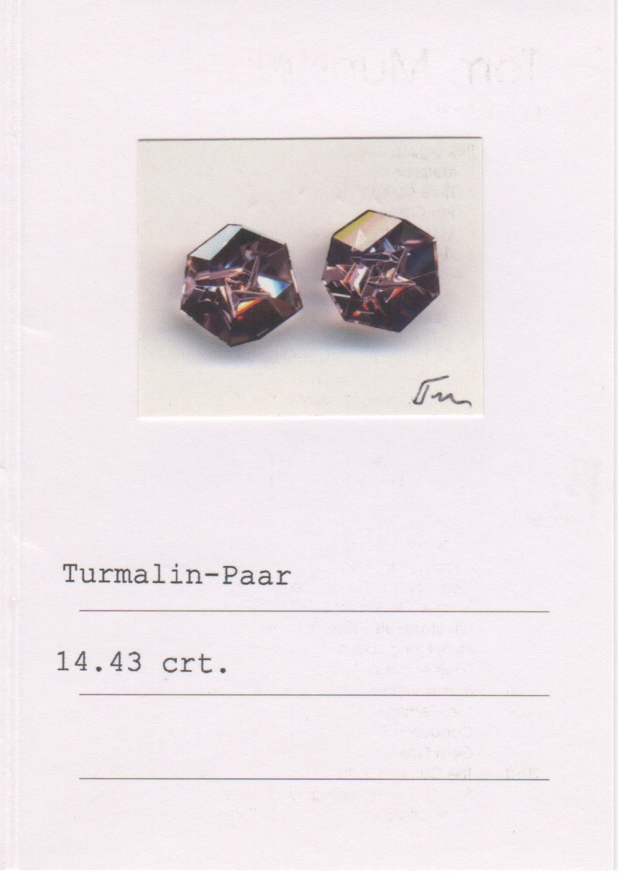 Pink Spinel and Pink Tourmaline Earrings-3