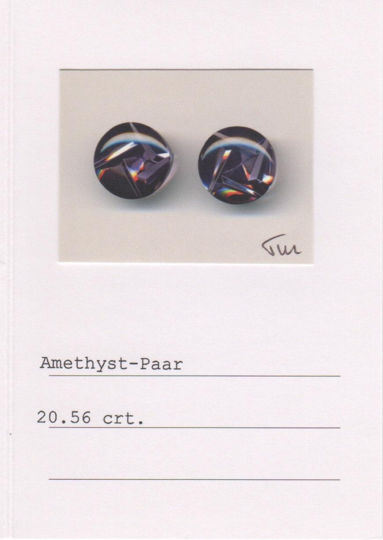 Moonstone and Amethyst Earrings-3
