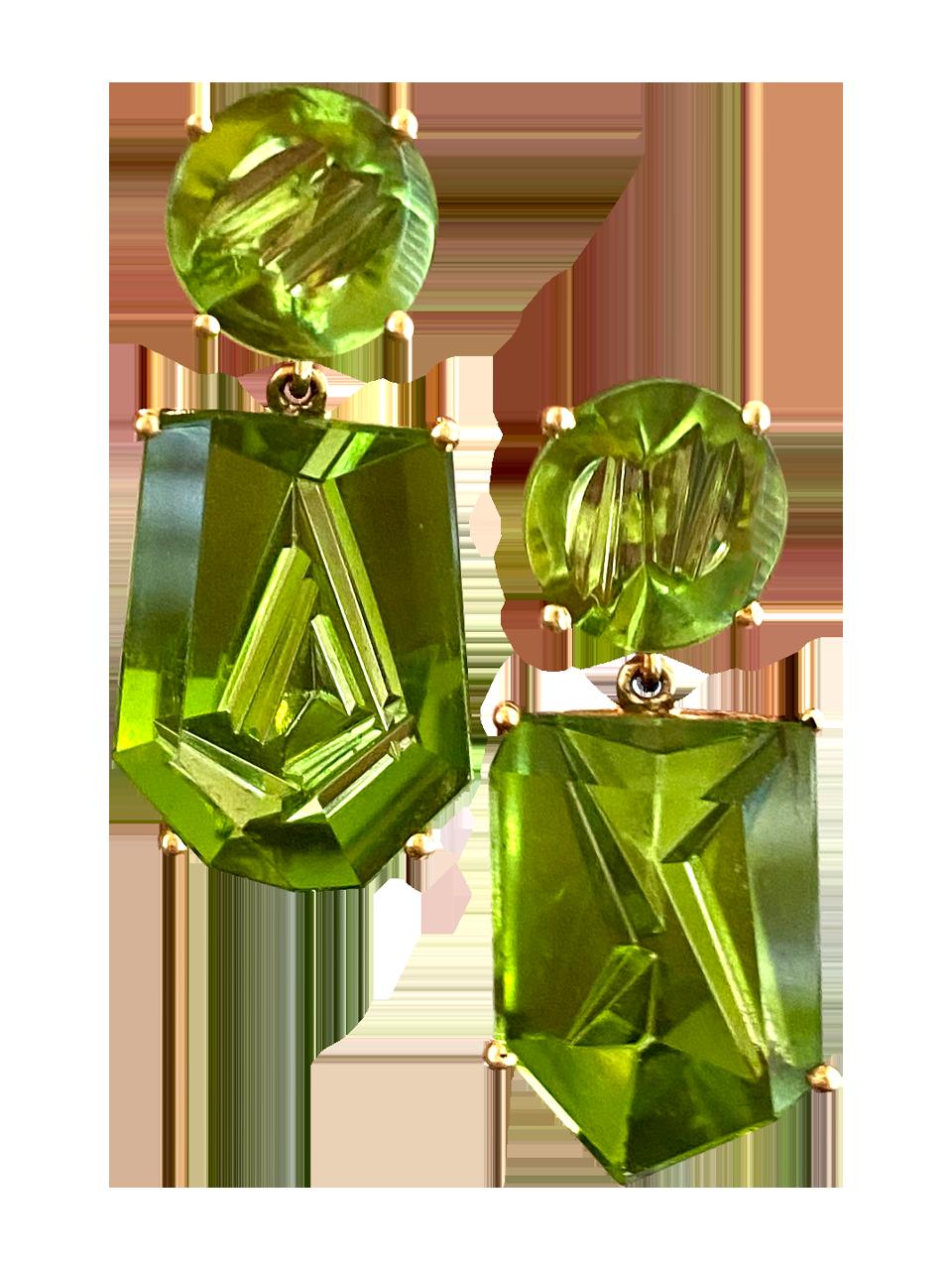 Peridot Earrings-1