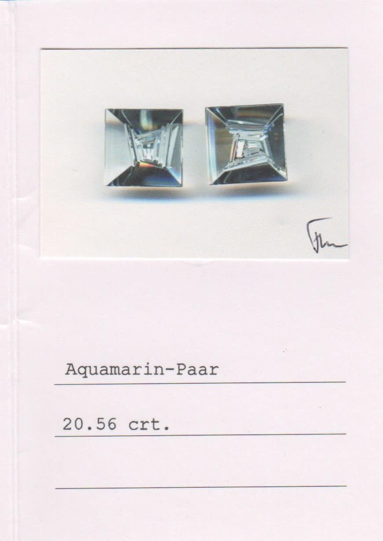 Moonstone & Aquamarine Earrings-3