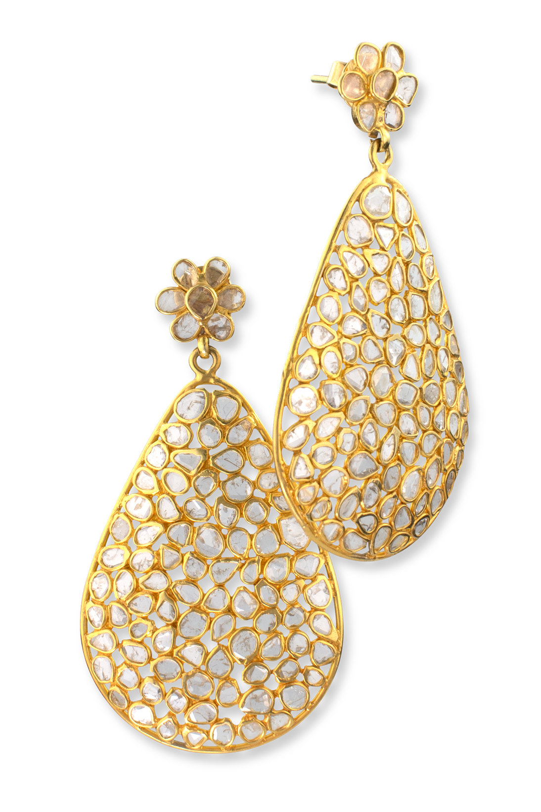 Diamond Slice Earrings-1
