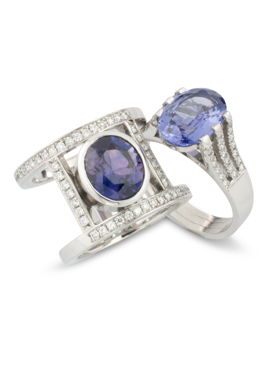 Violet Sapphire Ring-2